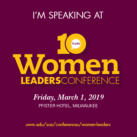 Speaker at Women Leaders Conference
